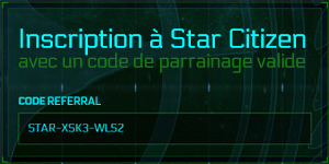 Inscription Star Citizen